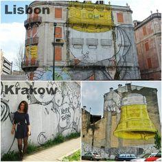 The work of street artist Blu in Lisbon and Krakow