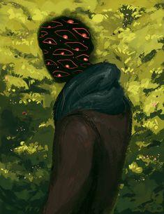 All of This Doubt by on DeviantArt Arte Horror, Horror Art, Guache, You Draw, Aesthetic Art, Dark Art, Art Boards, Art Inspo, Amazing Art
