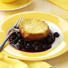 Blueberry French Toast Cobbler Recipe from Taste of Home -- shared by Mrs. Marie Herr of Berea, Ohio