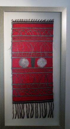 TELARES ENMARCADOS | Seda y Plumas Textiles, African Jewelry, Mexican Art, Weaving, Wall Hangings, Artwork, Decor Ideas, Home Decor, Moldings