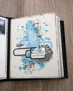 Album Photo Scrapbooking, Mini Albums Scrapbook, Christmas Mini Albums, Christmas Minis, December Daily, Mini Album Scrap, Graffiti Girl, Vintage Theme, Art Journal Inspiration