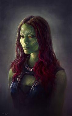 Gamora | Gamora Fanart by bohater13