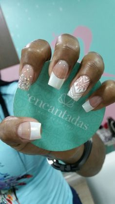 Uñas Lindas Nail Trends, Nail Arts, Manicure And Pedicure, Acrylic Nails, Nail Designs, Make Up, Pretty, Beauty, Inspiration