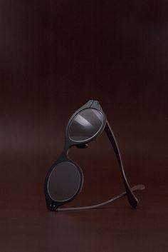 Minotaure Full Rim / Genuine cow leather eyewear http://www.lucasdestael.com/minotaure-full-rim
