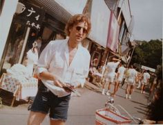 Rare photograph of John in Japan in the late seventies.✌️☮