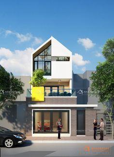Thiết kế nhà phố 3 tầng diện tích 7x17,5m phong cách hiện đại