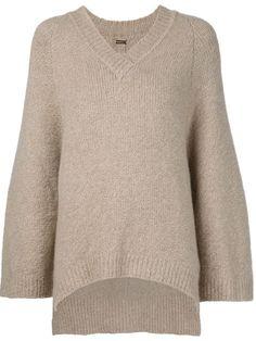ADAM LIPPES Oversized Sleeve Sweater. #adamlippes #cloth #sweater