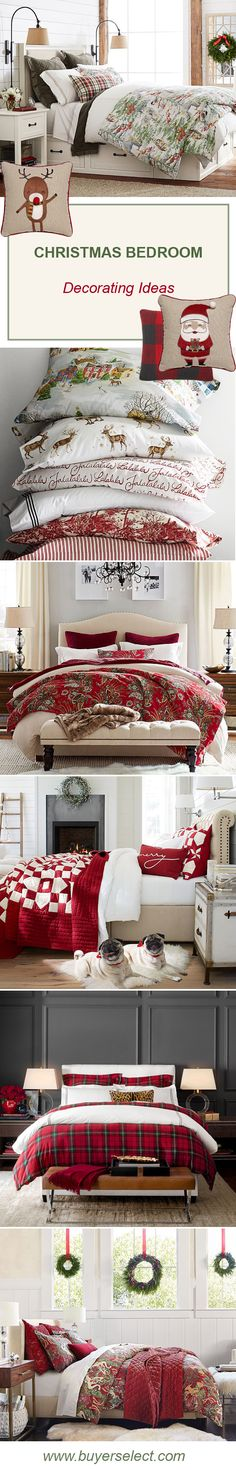 Christmas Bedroom Decorating Ideas & Decor