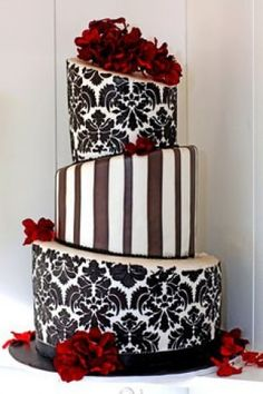 Use WeddingWire for everything you loved about Project Wedding, and so much more. Find new wedding ideas, book wedding vendors, and talk to real couples. Gorgeous Cakes, Pretty Cakes, Amazing Cakes, Unique Cakes, Creative Cakes, Elegant Wedding Cakes, Cake Wedding, Damask Wedding, Dream Wedding