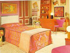 1970's kids room decor