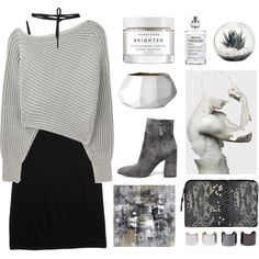 Untitled #2713 by tacoxcat on Polyvore featuring rag & bone, Alexander Wang, Steve Madden, Inge Christopher, Beaufille, Maison Margiela, Herbivore, Bloomingville and Luv Aj