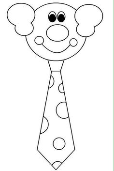 Clown Crafts, Circus Crafts, Carnival Crafts, Circus Theme, Circus Party, Kindergarten Crafts, Preschool Crafts, Drawing For Kids, Painting For Kids