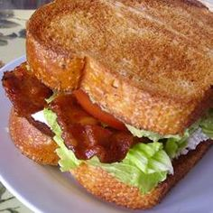 Super BLT | mmm guacamole and cream cheese.