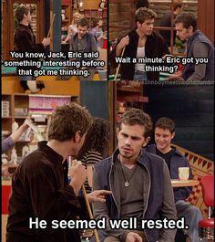 Eric got you thinking?