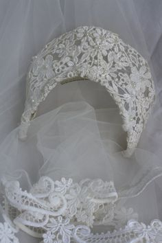 Vintage 60s Sixties Juliet Bridal Veil by RomantiqueTouch on Etsy, $20.00