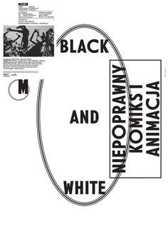 Black and White, Niepoprawny komiks i animacja