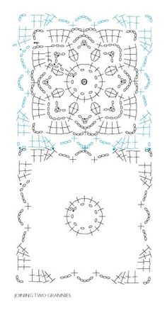How to Follow Stitch Diagrams for Crocheted Motif Garments