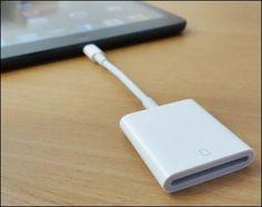 Lightning to SD Card Camera Reader for iPad 4 iPad Mini