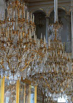 Saint Petersburg   Hermitage - Chandeliers
