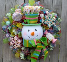 Amazing RAZ Candy Sprinkles Collection by ourinspiredcreations #Christmaswreaths #RAZsnowman #wreaths #Christmas #snowmanwreaths #candysprinkles #RAZ #Christmasdecor #MerryChristmas