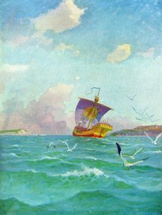 Every N.C. Wyeth Painting and Drawing online at Delaware Art Musuem (True? Old news?) - ConceptArt.org Forums