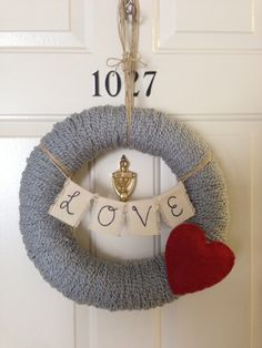 Valentine wreath!