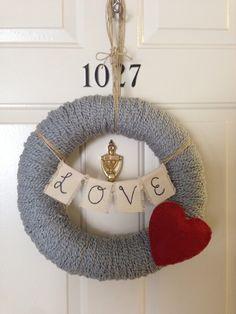 Valentine wreath!