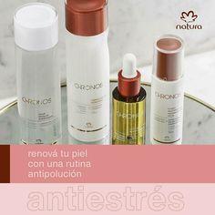Natura Chronos, Natura Cosmetics, Facial, Lipstick, Marketing, Beauty, Products, Skin Care, Routine