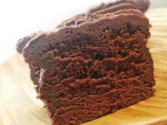 チョコ好き♪濃厚生チョコパウンドケーキ♪の画像