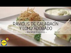 Raviolis De Calabacín y Lomo Adobado - Recetas Express - YouTube