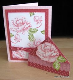 Blog where you'll find instruction how to create greeting cards, 3-D favors and many more paper crafts. Frenchie Independent Stampin'Up! demonstrator.