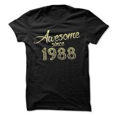 Awesome since 1988 T Shirts, Hoodie, Tee Shirts ==► Shopping Now!