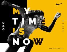 Store on Behance Fitness Design, Gym Design, Layout Design, Sports Marketing, E-mail Marketing, Sports Graphic Design, Graphic Design Posters, Nike Web, Images Instagram