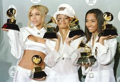 An African American music group is TLC. The group found success in the 1990s. Their second album CrazySexyCool was certified Diamond,  a first for a female group and sold 23 million copies worldwide. Billboard magazine ranked TLC to be one of the greatest musical trios.