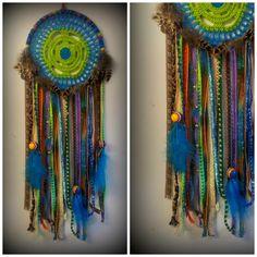 Chakra spiritual healing boho hippie Ibiza Native American Dream Catcher on Etsy, $48.29
