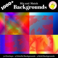 Looking for some unique and colorful backgrounds for your presentations and TPT products? https://www.teacherspayteachers.com/Product/Colorful-Creative-and-Fun-Backgrounds-Mix-and-Match-2558201
