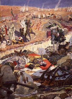 Los de Igueriben mueren pero no se rinden, 1924 © Museo de Málaga. Antonio Muñoz Degrain (Valencia, 18 de noviembre de 1840 – Málaga, 12 de octubre de 1924) fue un pintor español de ascendencia francesa.