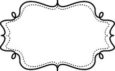 Free Printable Black and White Frame Black And White Frames, Black Picture Frames, Printable Designs, Free Printables, Doodle Frames, Japanese Typography, Printable Pictures, Clip Art, Borders And Frames