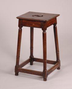antique high stool