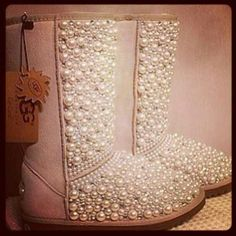 Pearly Uggs, what?!