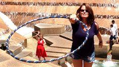 Hooping at the Arlington Water Gardens | Hooping.org