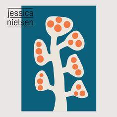 illustrations - Jessica Nielsen - surface pattern design