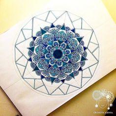 #мандала #графика #орнамент #узор #graphic #art #холст #TRIA #mandala #ornament…