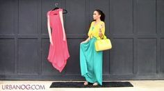 How to Wear a Maxi Dress & Maxi Skirt!  How to Style a Maxi Skirt & Dress 5 Outfits - YouTube