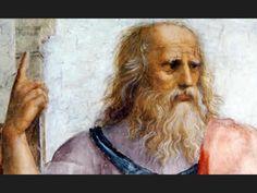 Platón (427-347) Filósofo griego, alumno de Sócrates y maestro de Aristóteles. Divide la realidad en dos mundos, el mundo de las ideas y el de los objetos sensibles.El primero supone la  verdadera realidad y el otro es el mundo de la mera apariencia. -Racionalista, considera que las ideas están impresas en el alma. -Dualista, concibe al hombre como compuesto de cuerpo y alma.