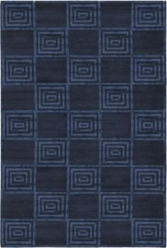 Part of the Ralph Lauren collection for Ralph Lauren Home Rugs, the Alistair Tiles Sapphire rugs design is reminiscent of Art Deco glamour from the 1930s and 1940s with a raised velvety motif contrasted against a solid pile. Hand knotted in Nepal from hand spun high mountain wool, organic viscose, the Alistair Tiles rug is sophisticated and chic with its linen touches and its use of cut and looped piles to  http://www.cyrusrugs.com/ralph-lauren-home-rugs-item-13959&category_id=0
