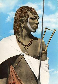Maasai Warrior 1965