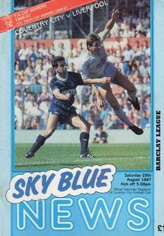 29 August 1987 v Liverpool Lost 1-4