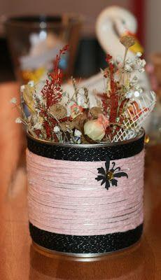 Flower pot hand made
