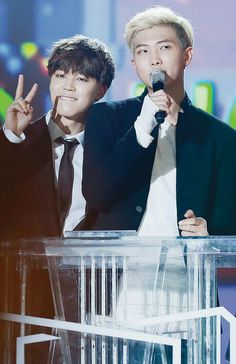 BTS | JIMIN and RAP MONSTER